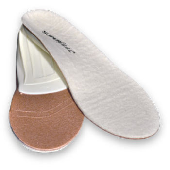 Superfeet Merino White Insoles