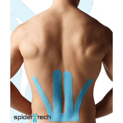 Sporttape SpiderTech Lower Back Precut Kinesiology Tape