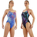 Speedo Ladies TurboTurn Placement Rippleback Swimsuit