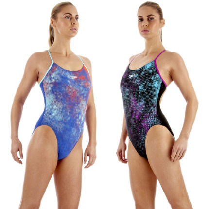 Speedo Women's TurboTurn Placement Rippleback SS13