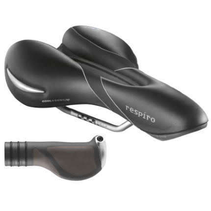 SelleRoyal Respiro Athletic Saddle and FREE Mano Grips