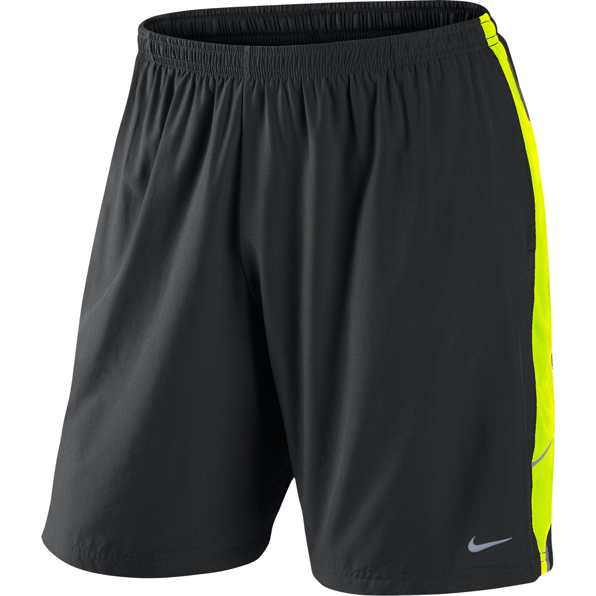 wiggle nike 9 inch sweat wicking running short fa12 running shorts. Black Bedroom Furniture Sets. Home Design Ideas