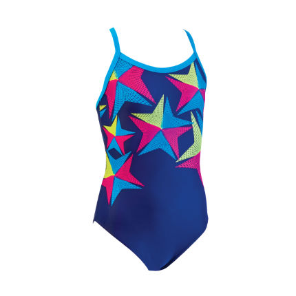 Zoggs Junior Girls Karratha Racerback Swimsuit