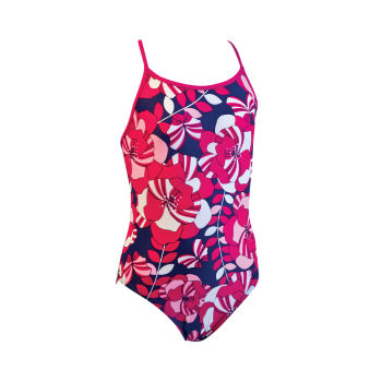Zoggs Junior Girls Diamond Beach Spliceback Swimsuit
