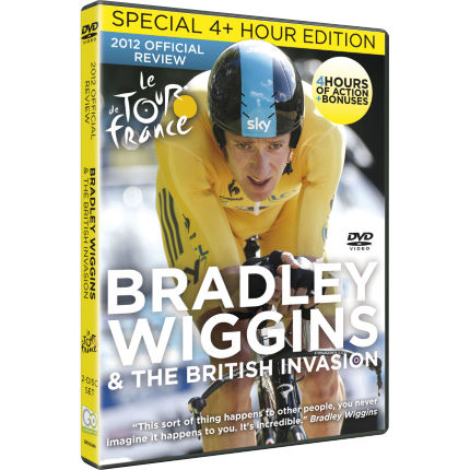 Go Entertain - Bradley Wiggins and The British Invasion DVD レビュー