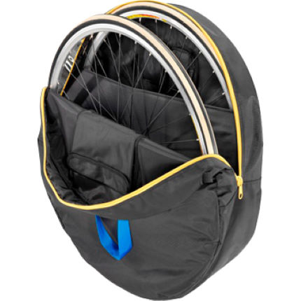 B and W Wheel Bag - Double - 28""