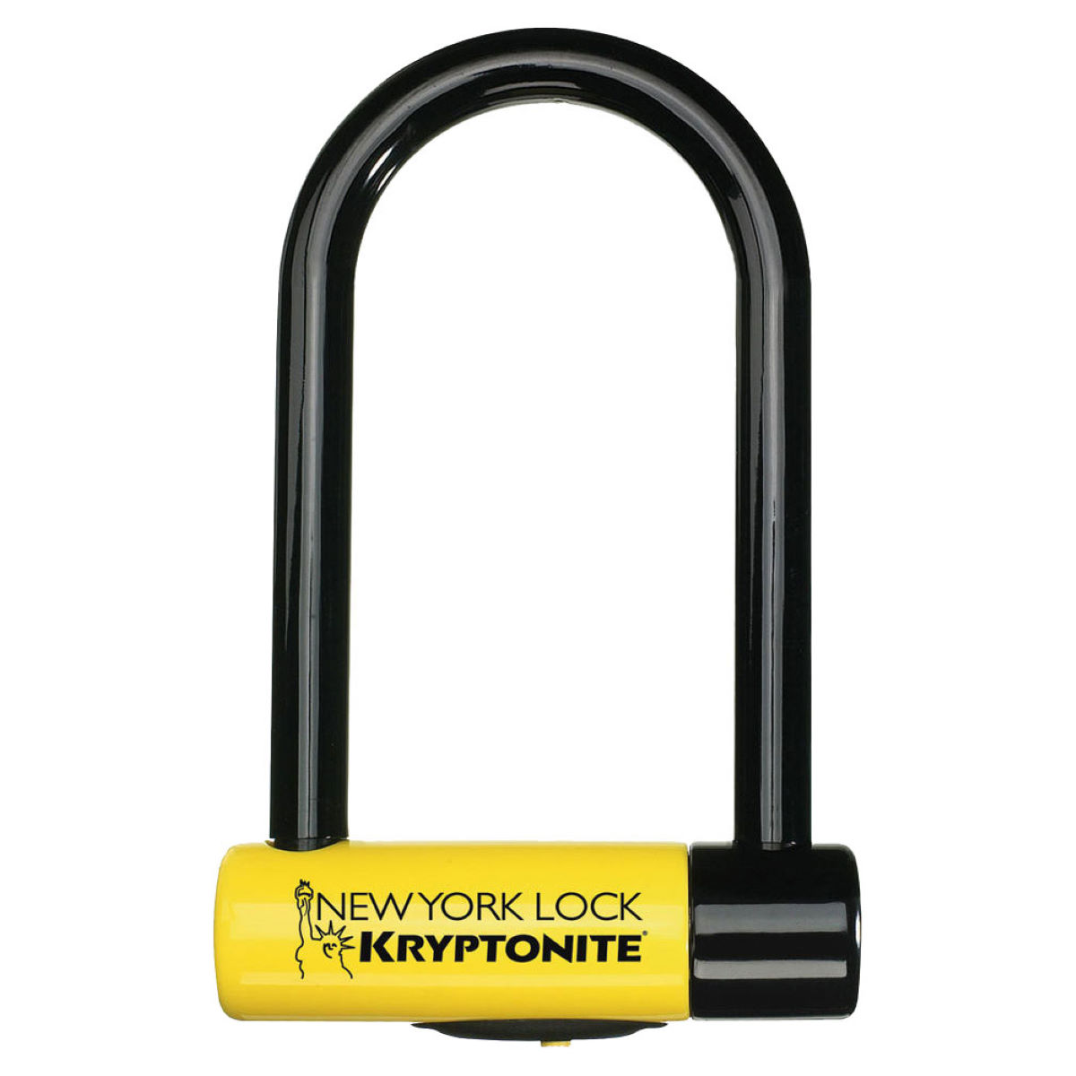 Antivol Kryptonite New York STD NYL (avec support FlexFrame) - Jaune