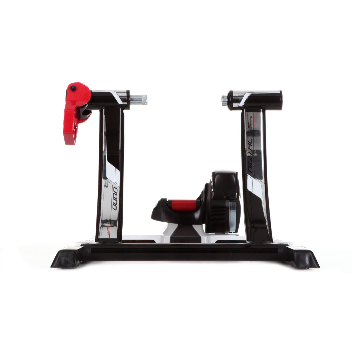 Home Trainer Elite Qubo Digital (sans fil) - Taille unique Noir/Blanc Home Trainer et rouleaux