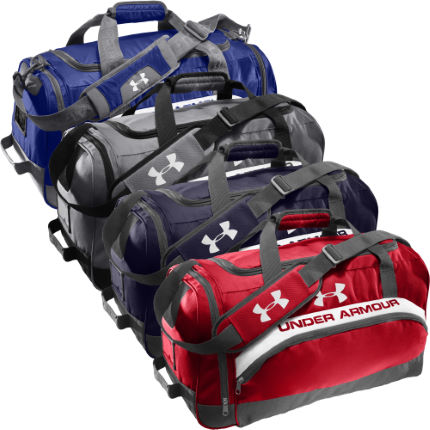 Under Armour - PTH VICTORY L TEAM DUFFEL-GPH/BLK/WHT