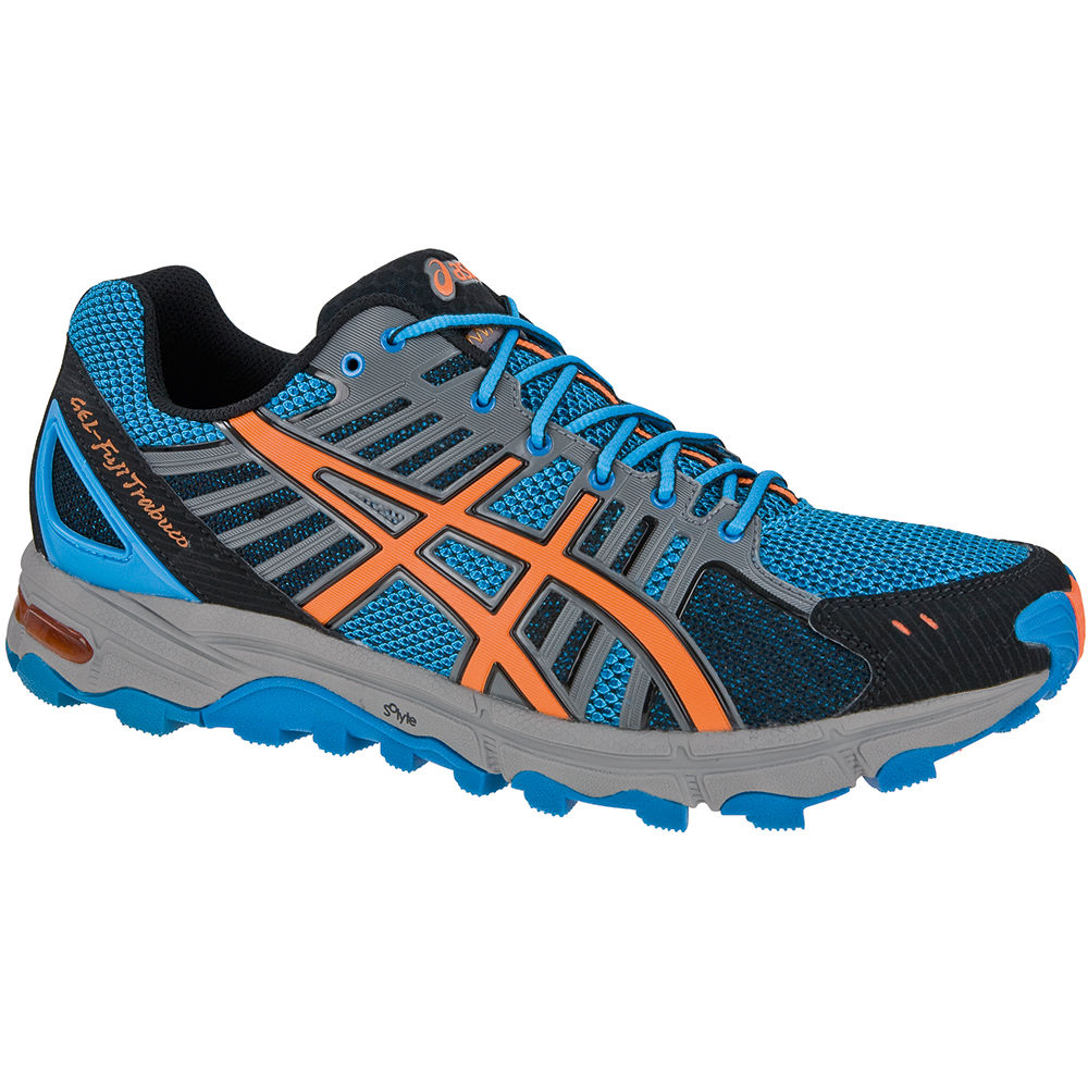 chaussures de running trail asics gel fujitrabuco shoes wiggle france. Black Bedroom Furniture Sets. Home Design Ideas