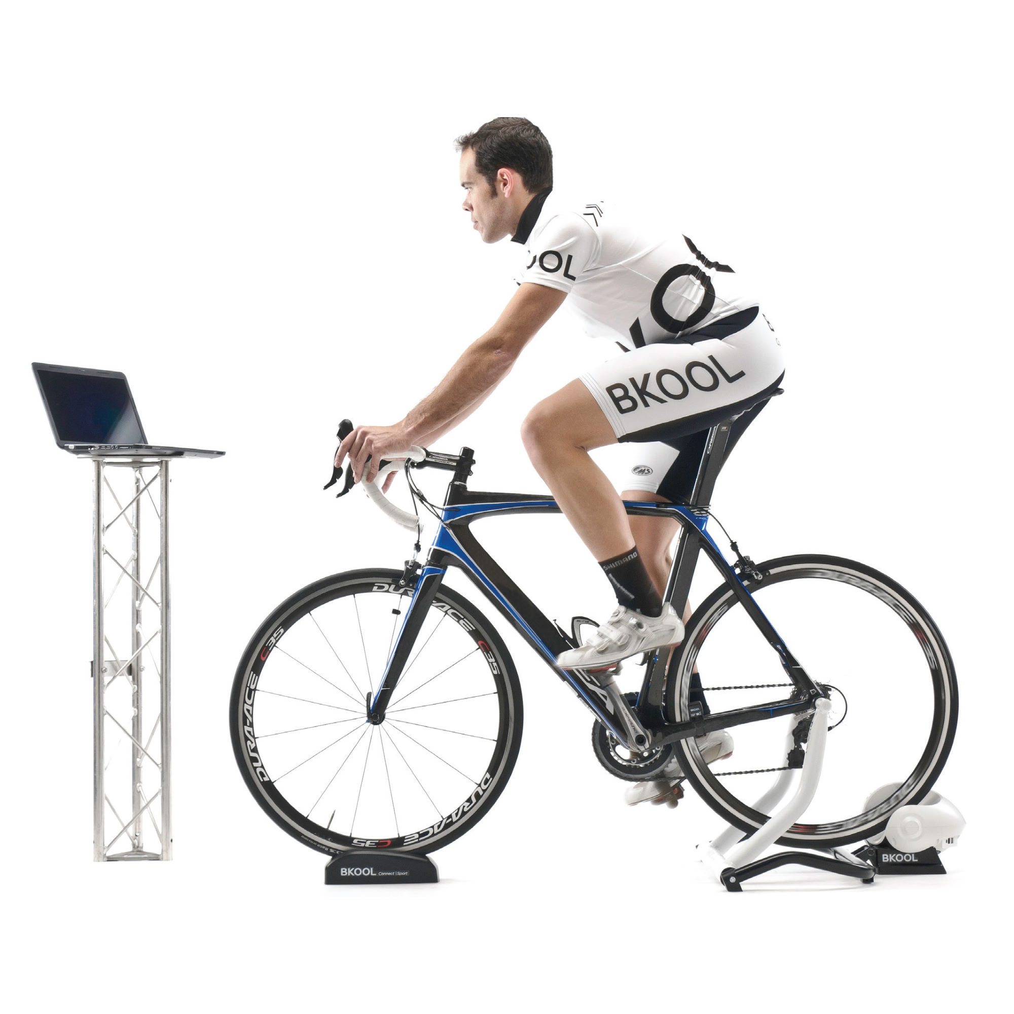 home trainer et rouleaux bkool turbo trainer package with cadence sensor wiggle france. Black Bedroom Furniture Sets. Home Design Ideas