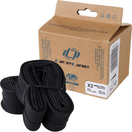 LifeLine Essential MTB Medium Inner Tubes - 2 Pack