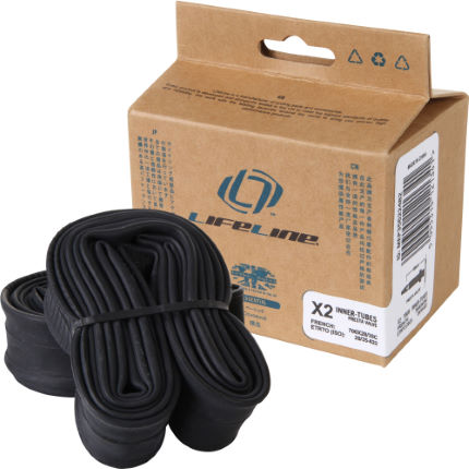 LifeLine Essential Touring Narrow Inner Tubes - 2 Pack