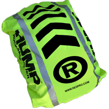 Respro Hi-Viz Hump rucsac cover - waterproof regular