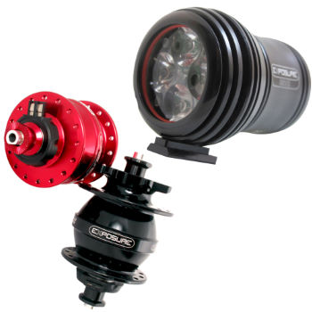 Picture of Exposure Revo MK1 Dynamo Bike Light with USE Hub Pack