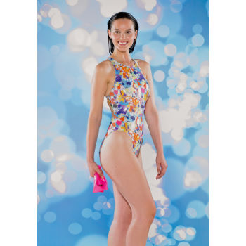 Maru Ladies Aqua Sport Splash Sparkle Tek Back