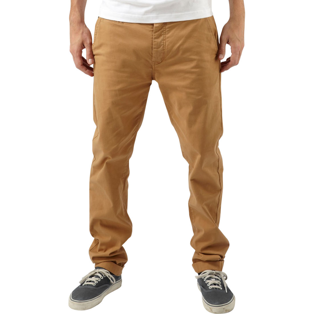 Wiggle | howies Chada Stretch Chinos | Casual Trousers