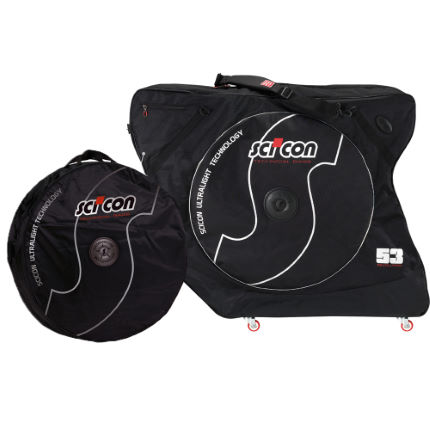 Scicon Aero Comfort 2.0 TSA and Wheel Bag Bundle