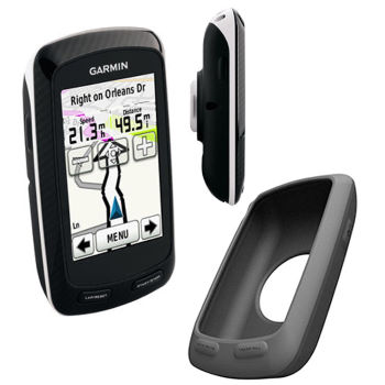 Garmin Edge 800 GB Discoverer and Silicone Case Bundle