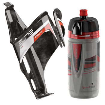 Elite Moro dElite Bottle Cage and 550ml Bottle Bundle