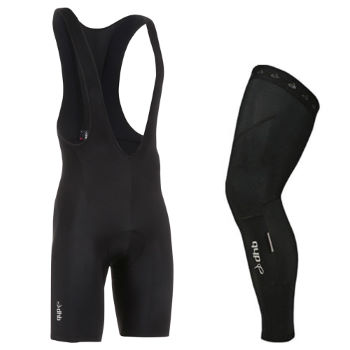dhb Vaeon Roubaix Bib Short and Leg Warmer Bundle