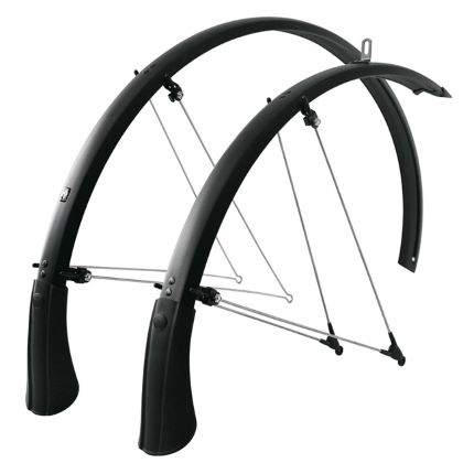 SKS Bluemels Trekking 53mm Matt Black Mudguards