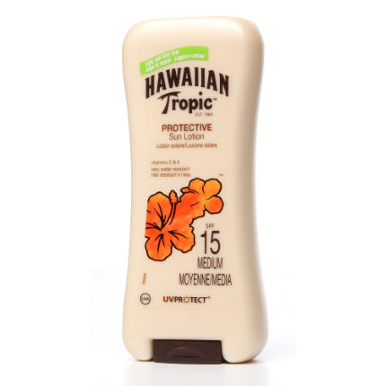 Hawaiian Tropic Protective Sun Lotion SPF15 200ml