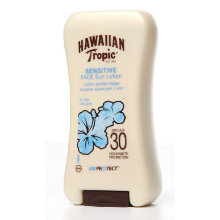 Hawaiian Tropic Sensitive Face Sun Lotion SPF30 120ml