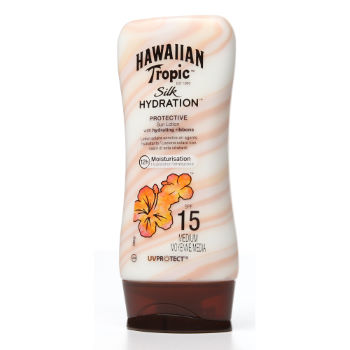 Hawaiian Tropic Silk Hydration Sun Lotion SPF15 180ml