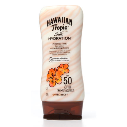 Hawaiian Tropic Silk Hydration Sun Lotion SPF50 180ml