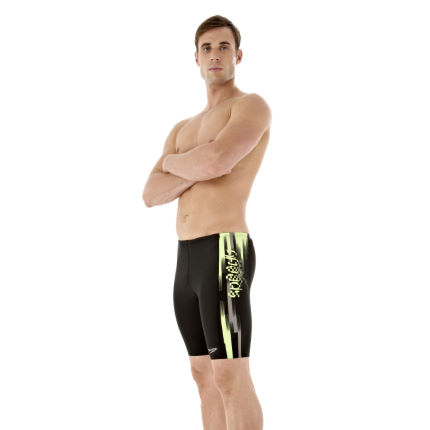 Speedo Hydroflash Placement Panel Jammer Swimwear