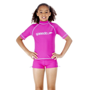 Speedo Kids Hayden Sunsuit Swimming Top