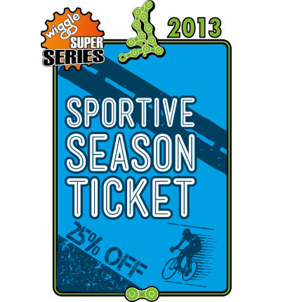 Wiggle Super Series Sportive (Road) Season Ticket 2013