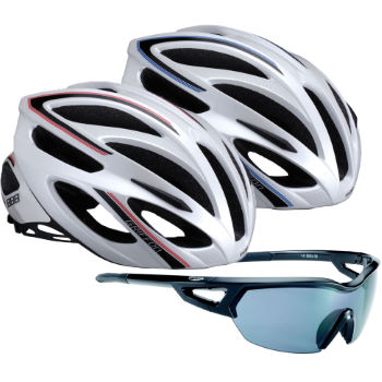 BBB Arriver Sunglasses and Griffon Helmet Bundle