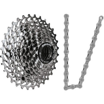 SRAM Apex 10 Speed Cassette and Chain Bundle