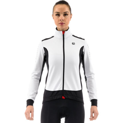 Giordana Ladies Forma Red Carbon Windproof Jacket