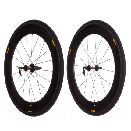 Mavic Cosmic Carbone 80 Tubular Wheelset 2013
