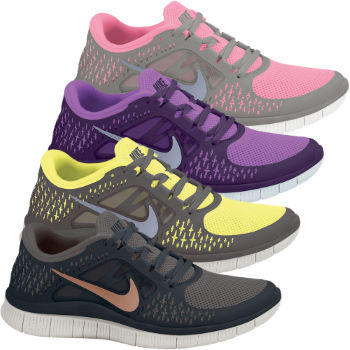 Nike Ladies Free Run+ 3 Shoes SP13