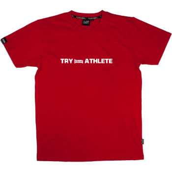 Plain Lazy Try Athlete T-Shirt
