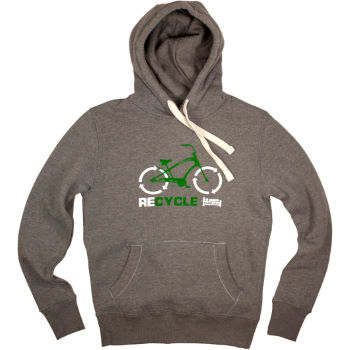 Plain Lazy Recycle Hoody