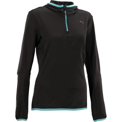 Puma Ladies Core Long Sleeve Half Zip Hoody SS13