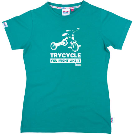 Plain Lazy Ladies Trycycle T-Shirt - Wiggle Exclusive - 2012