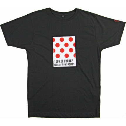 Velolove Tour De France Maillot a Pois Rouges T-shirt