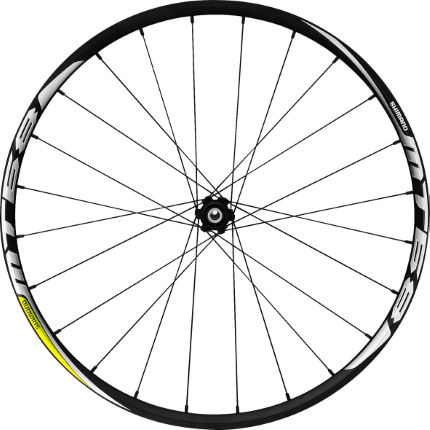 Shimano MT68 Centre-Lock (15mm Thru) Front Wheel