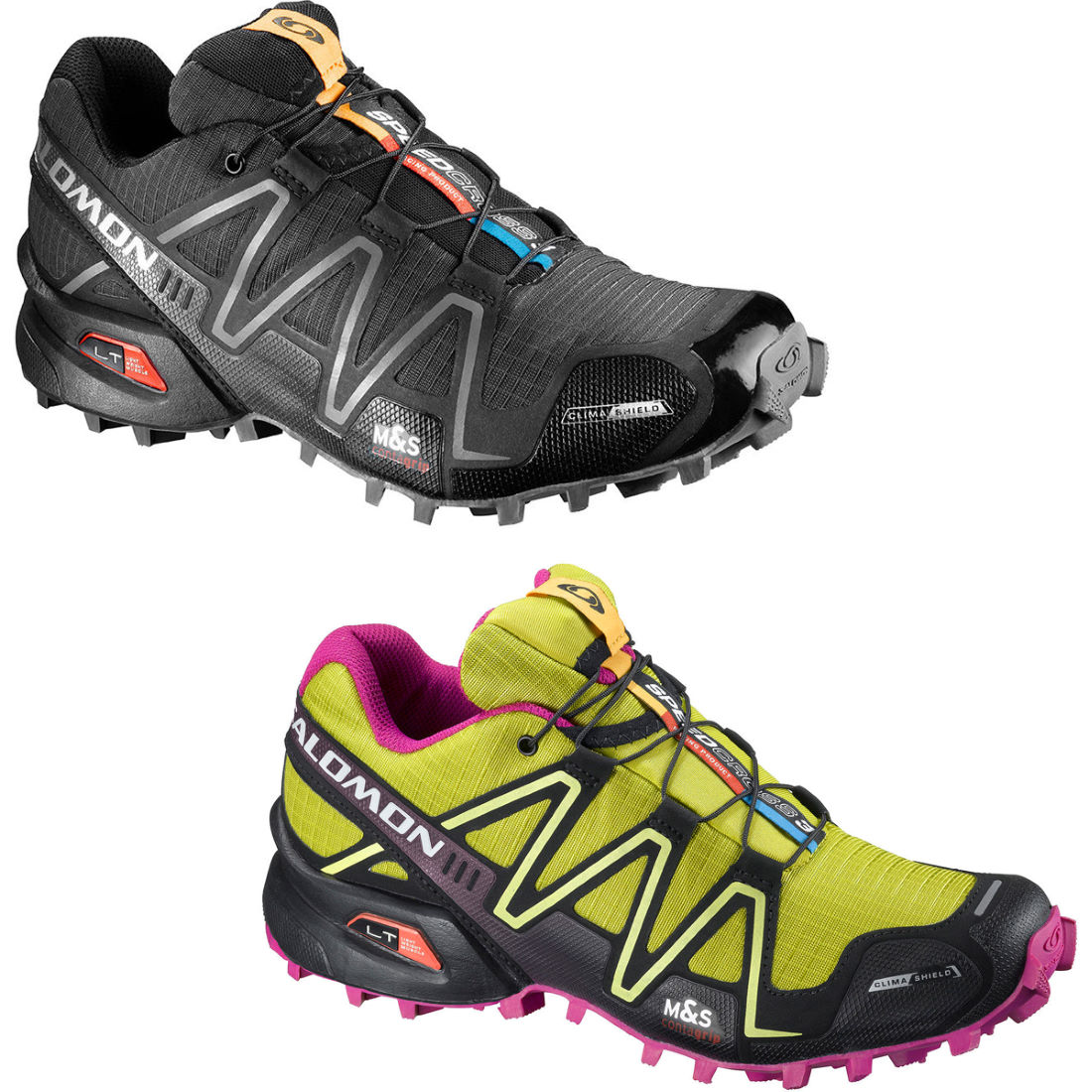 wiggle salomon ladies speedcross 3 cs shoes ss13 offroad running shoes. Black Bedroom Furniture Sets. Home Design Ideas