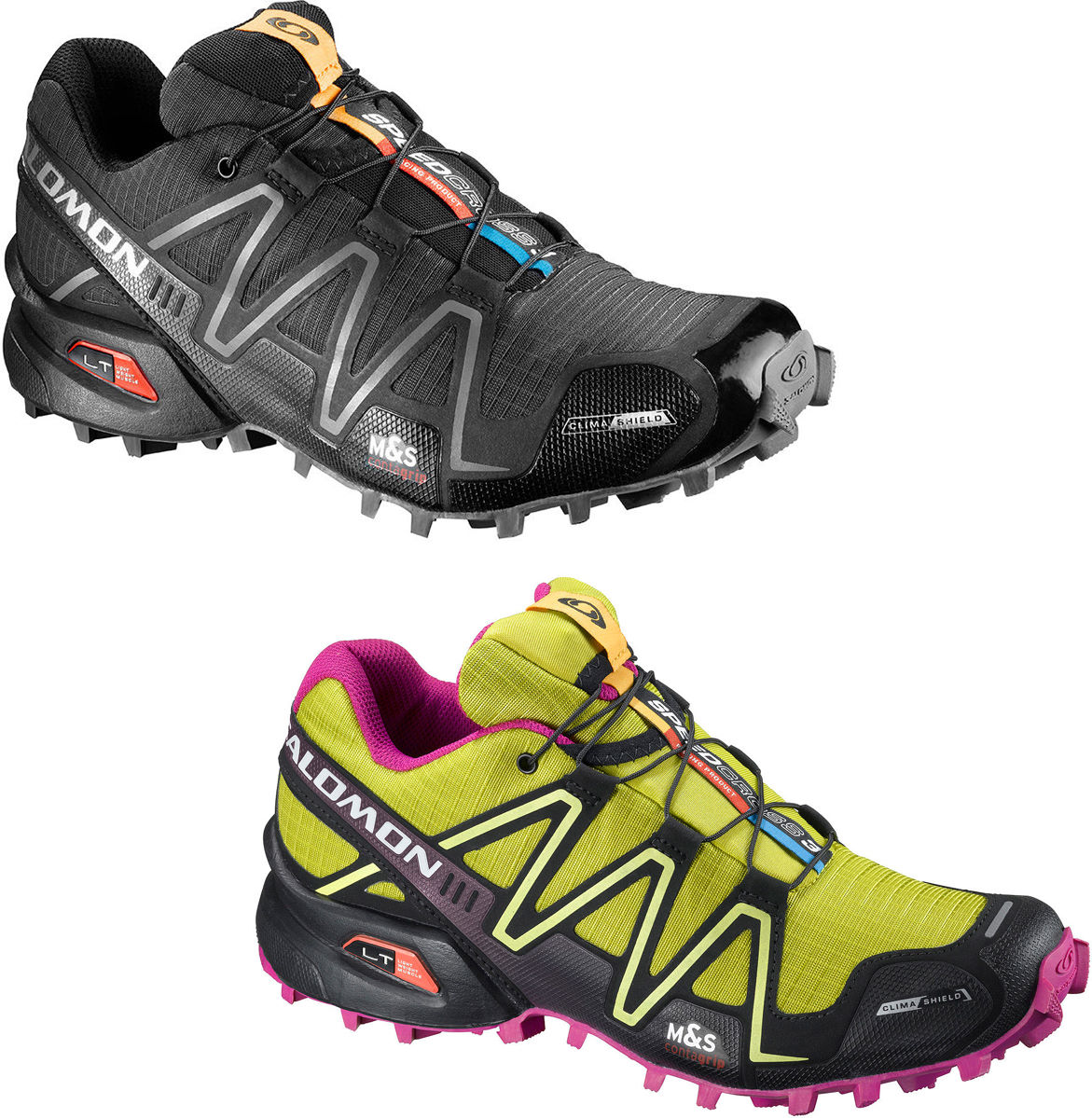 Salomon Speedcross 3 Bianche
