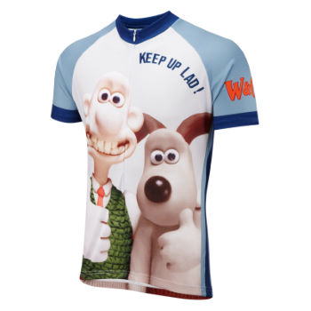 Foska Wallace and Gromit Road Cycling Jersey