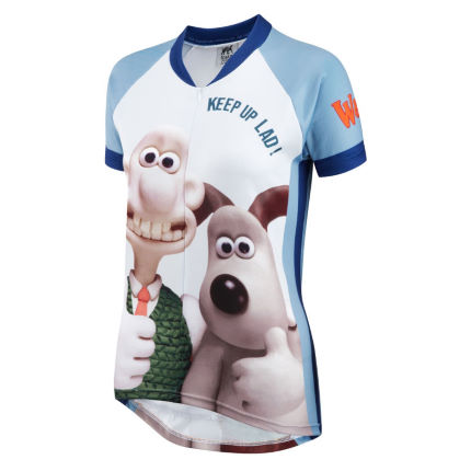 Foska Ladies Wallace and Gromit Road Cycling Jersey