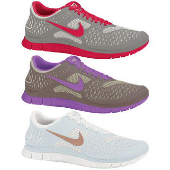 Nike Ladies Free 4.0 V2 Shoes SP13