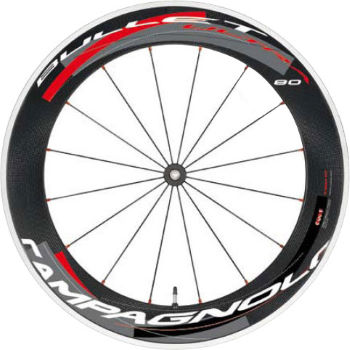 Campagnolo Bullet Ultra 80 Cult 2 Way Fit Carbon Front Wheel